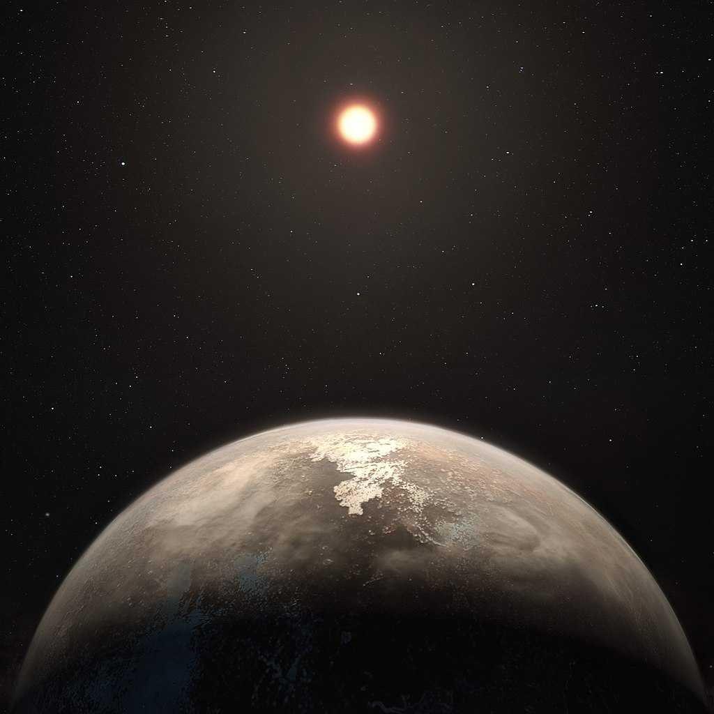 el sol se ve fuera del planeta